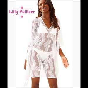 ❤️ Lilly Pulitzer❤️Lace SwimSuit Coverup / Caftan